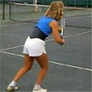 Back-A-Line Lumbar Support Back Belt for Tennis