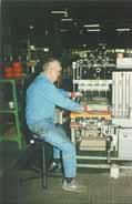 Bambach Saddle Seat in manufacturing