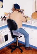 Bambach Saddle Seat for counter work