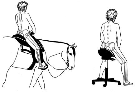 width - Saddle Chair