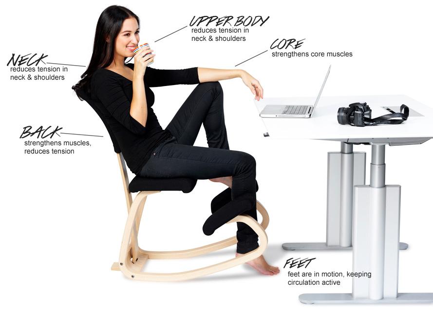 Thatsit Balans Kneeling Chair By Varier